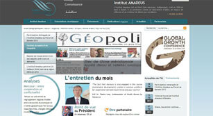 Site internet L'institut amadeus