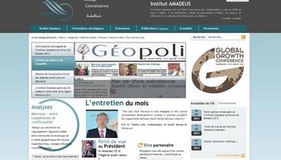 Site internet L'institut amadeus / Joomla