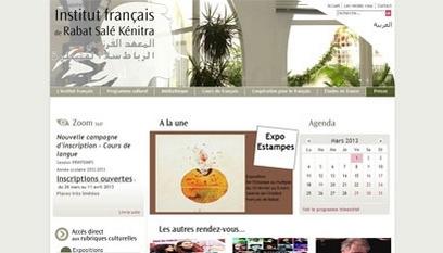 Site internet L'institut Français de Rabat / Joomla