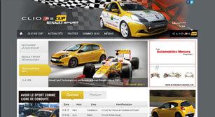 Site internet Clio-rscup