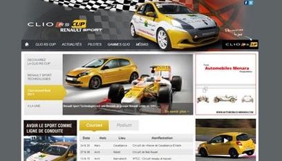 Site internet Clio-rscup / Joomla