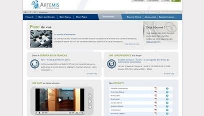 Site internet Artemis Conseil / Joomla