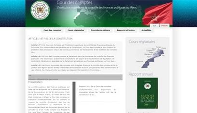 Site internet Cour des comptes / Joomla, Flash,