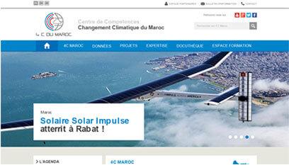 Site internet 4C Maroc / DRUPAL