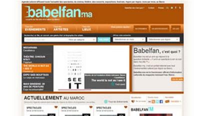 Site internet Babelfan / joomla