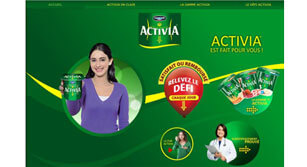Site internet Activia