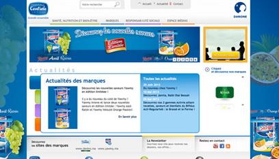 Site internet Centrale Laitière / DRUPAL 7