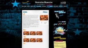 Site internet Génération mawazine