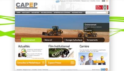 Site internet Capep / Wordpress
