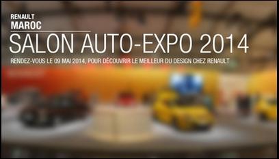 Site internet Auto-Expo Renault / Site en Flash avec plateforme immersive en 360°