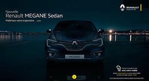 Mini-site Renault : Megane Sedan