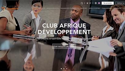 Site événementiel Club AWB / Développement spécifique
