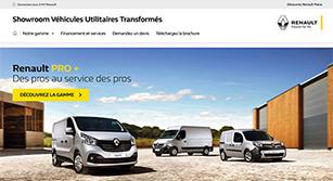 Site internet Renault VU