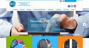 Site internet SCD Group