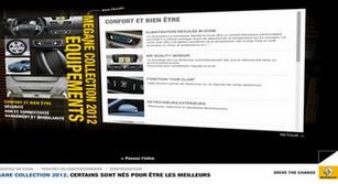 Site internet Renault megane