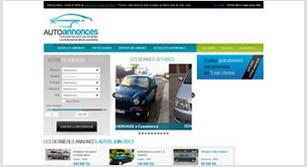 Site internet Auto annonces