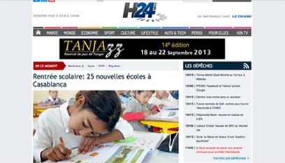 Site internet H24info / DRUPAL 7