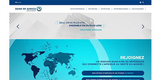 Plateforme RH de Bank of Africa par Pyxicom