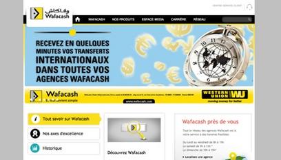 Site internet Wafacash / Drupal