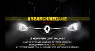 Application Facebook Search Mégane Hunted saison 2