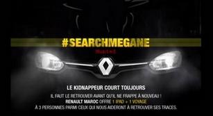 Application Facebook Search Mégane Hunted saison 2