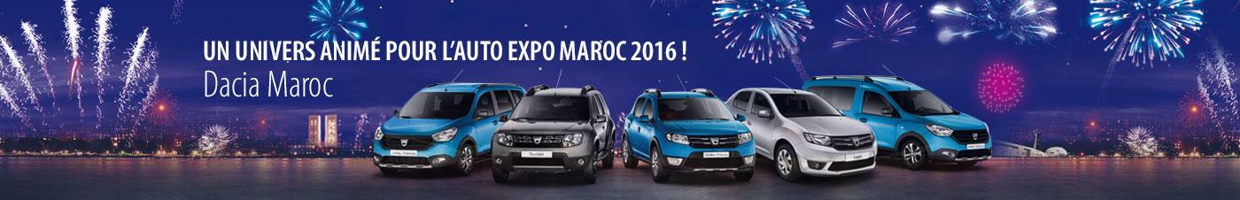 Un univers animé pour l'auto expo 2016 !