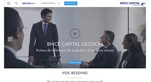 Site internet BMCE Capital Gestion
