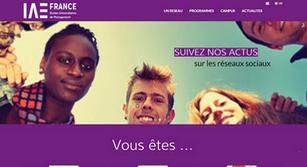 Site internet IAE France