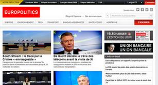 Site internet Europolitics