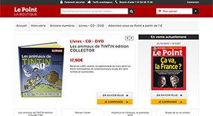 Site internet Le Point