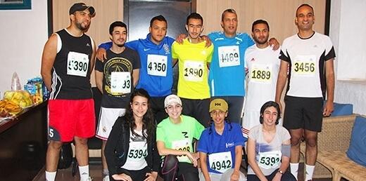 Pyxicom au Marathon de Rabat 2015