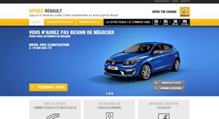 Mini-site Mini site Renault