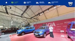 Site événementiel responsive  Salon Auto Expo Dacia 2016