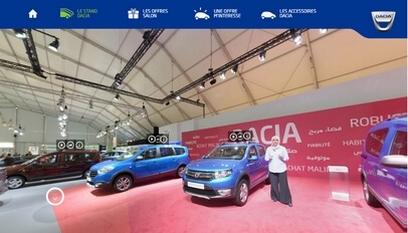 Site événementiel responsive  Salon Auto Expo Dacia 2016 / PHP + HTML5 + CSS3 + responsive design