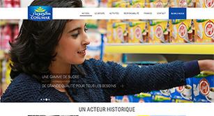 Site internet COSUMAR