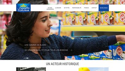 Site internet COSUMAR / DRUPAL