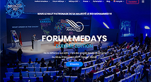Site internet MEDays 2017