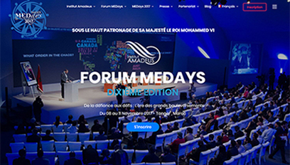 Site internet MEDays 2017 / Wordpress
