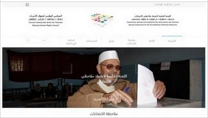 Site internet Observation  des élections 2015  / Wordpress