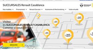 Site internet Succursales Renault Dacia