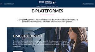 Site internet BMCE Capital