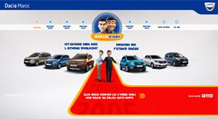 Site événementiel Auto-Expo Dacia