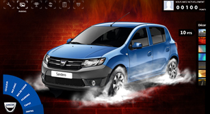 Application Facebook Dacia Tuning