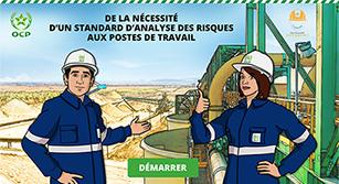 Support digital Learning Office Chérifien des Phosphates- E-learning